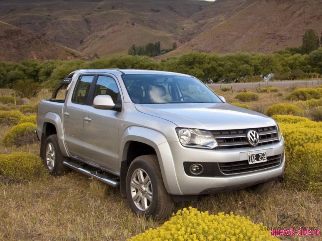 Фото Volkswagen Amarok 2010.